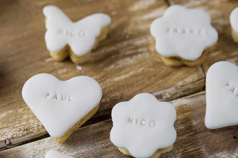 Gastgeschenk Hochzeit: Kekse