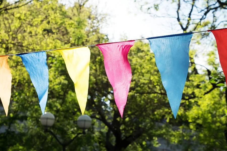 Wimpelketten als nachhaltige Alternative zu Luftballons