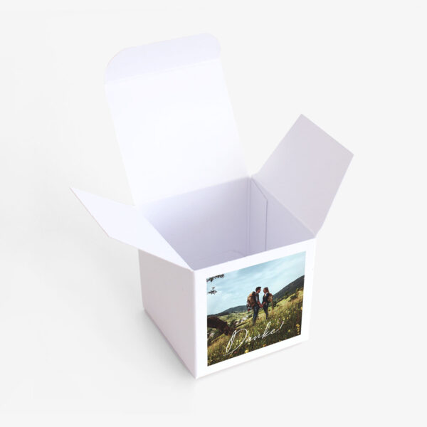 """Nachhaltige Gastgeschenk Verpackung """"wir heiraten"""""""