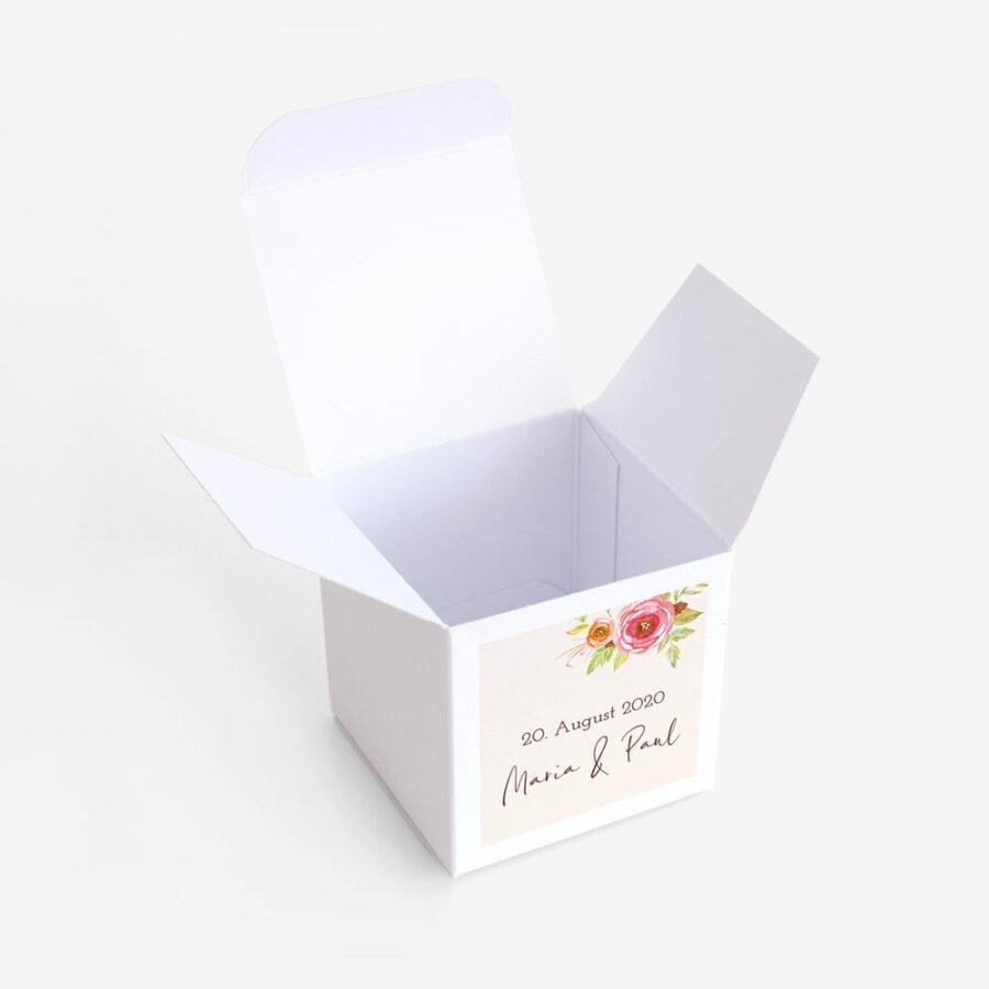 """Gastgeschenk Verpackung """"Blumenkranz"""""""