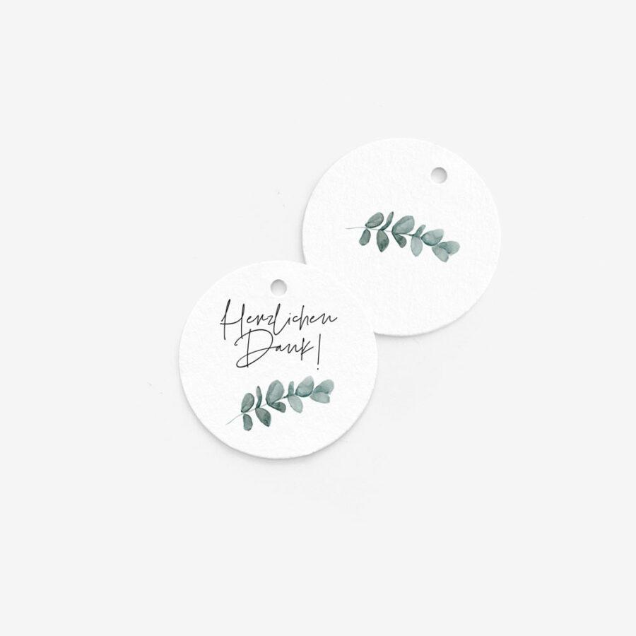 """Nachhaltige Anhänger """"Eukalyptus"""""""