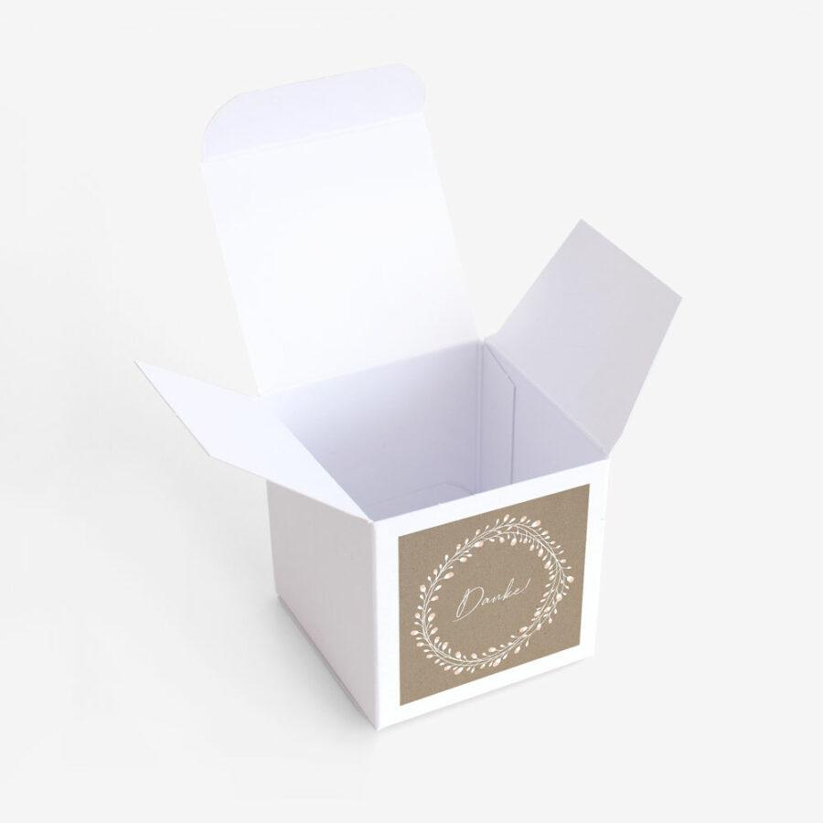 "Gastgeschenk Verpackung ""Floral Craft"""