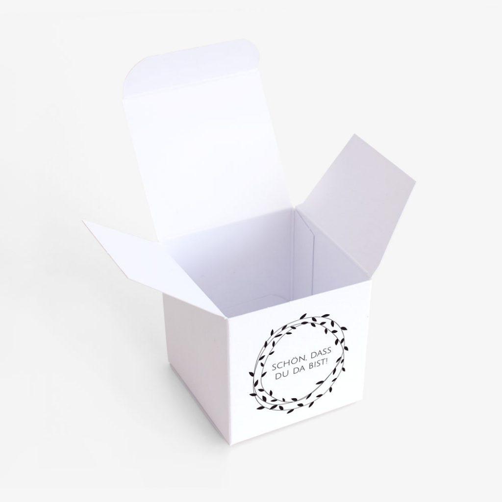 """Nachhaltige Gastgeschenk Verpackung """"Pure"""""""