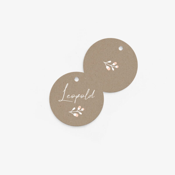 """Nachhaltige Tischkarte """"Floral Craft"""""""