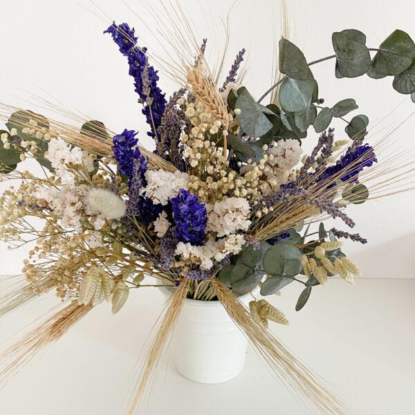 """Brautstrauß Trockenblumen """"Eukalyptus blue"""""""