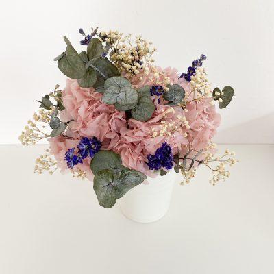 """Brautstrauß Trockenblumen """"Hortensien"""""""