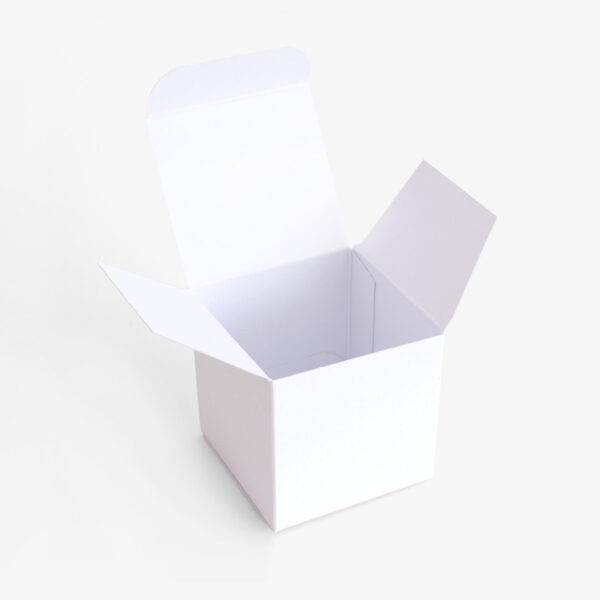 Gastgeschenk Verpackung:Buntbox weiß