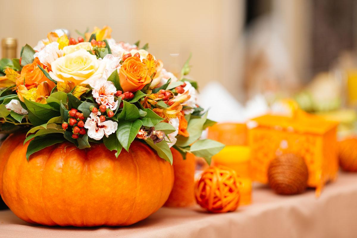 Deko Herbsthochzeit