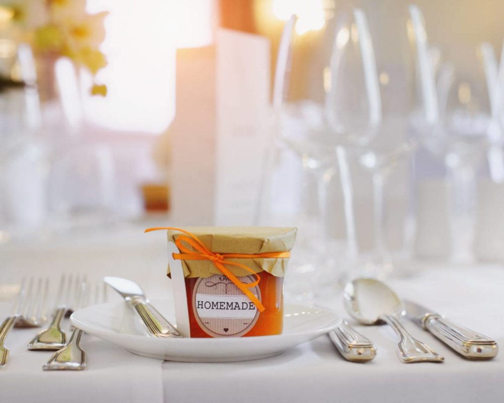 Nachhaltiges Gastgeschenk Hochzeit