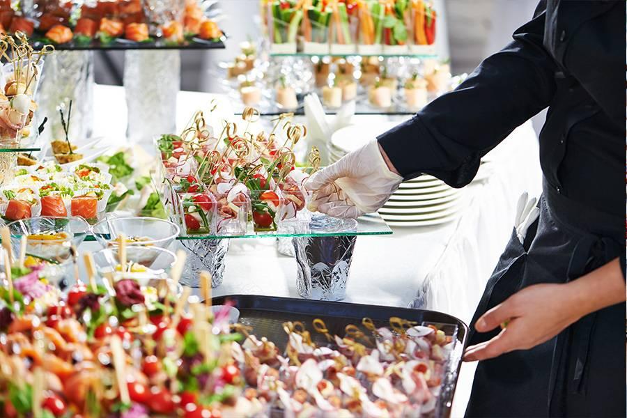 Inspiration Buffet zur Hochzeit