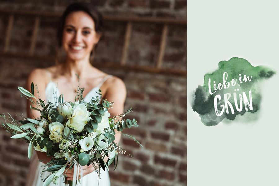 Liebe in Grün - Hochzeitsfotograf
