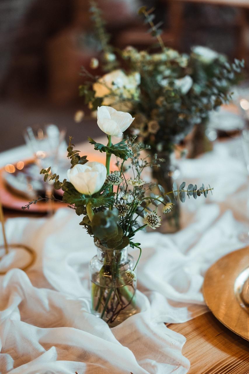 Nachhaltige Hochzeit: Deko