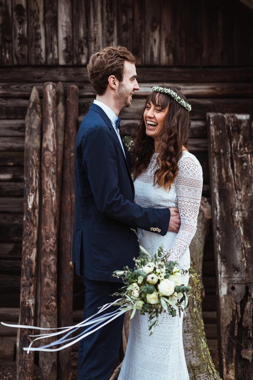 Nachhaltige Hochzeit: Fotoshooting
