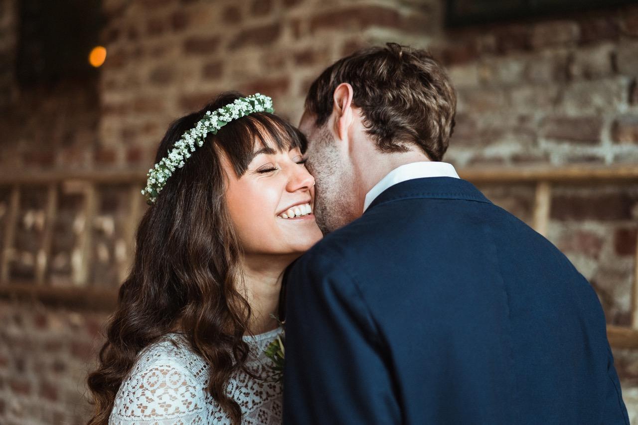 Nachhaltige Hochzeit: Paar